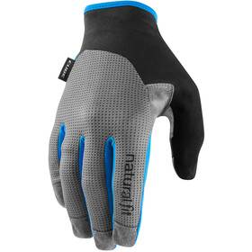 Cube X NF Long Finger Gloves, grey/blue